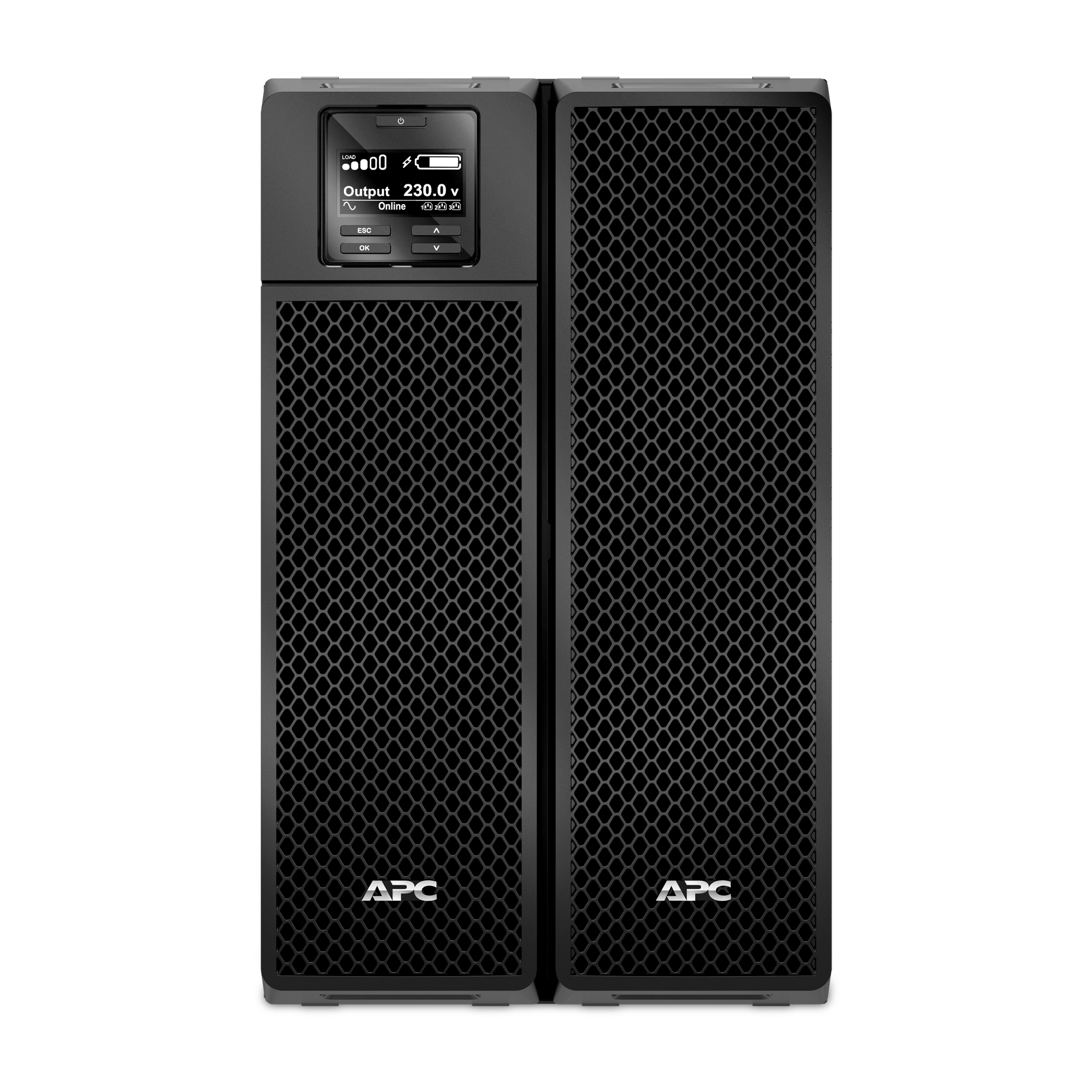 No-break inteligente SRT da APC, 8000 VA e 230 V