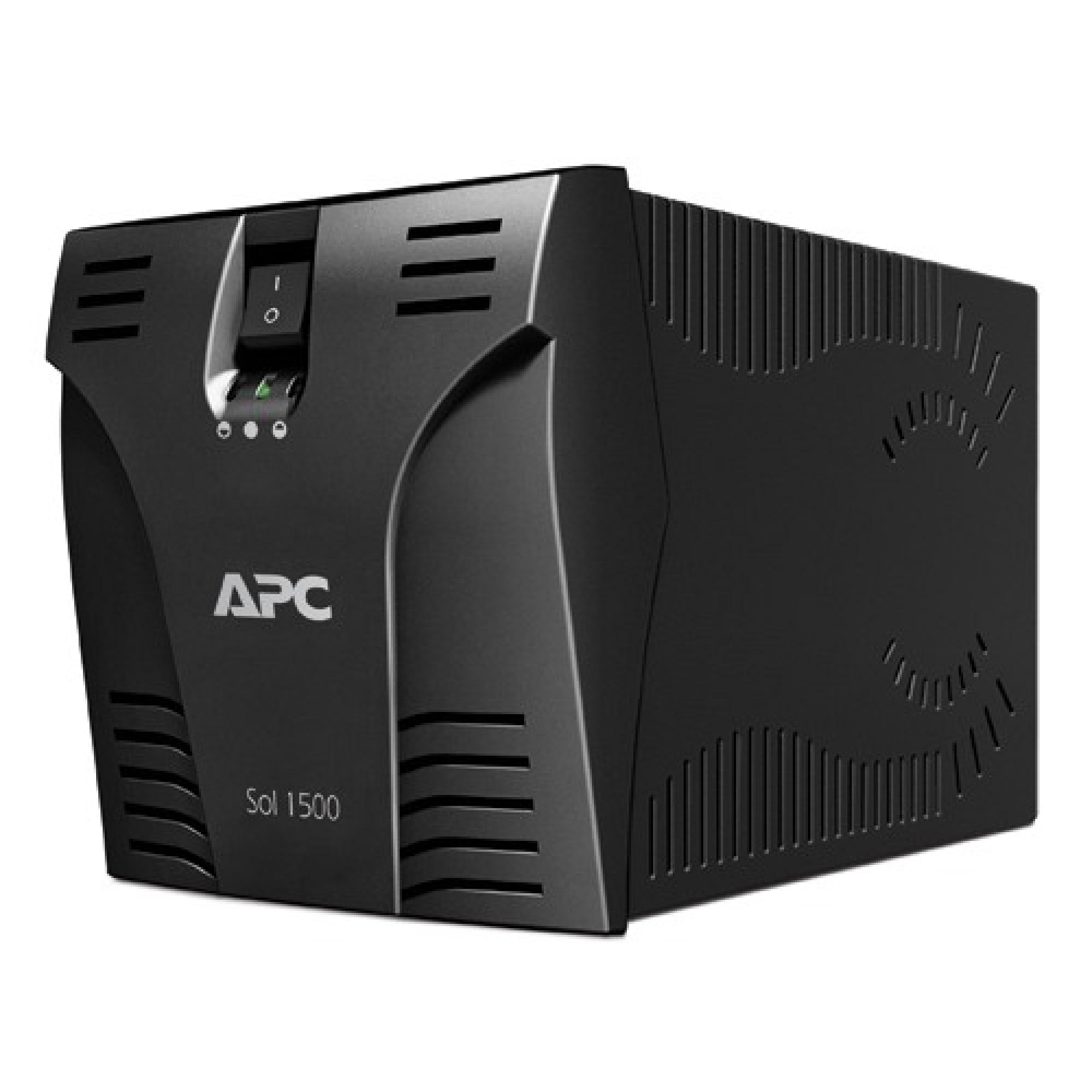 Estabilizador APC SOL 1500 BI  Bivolt /115