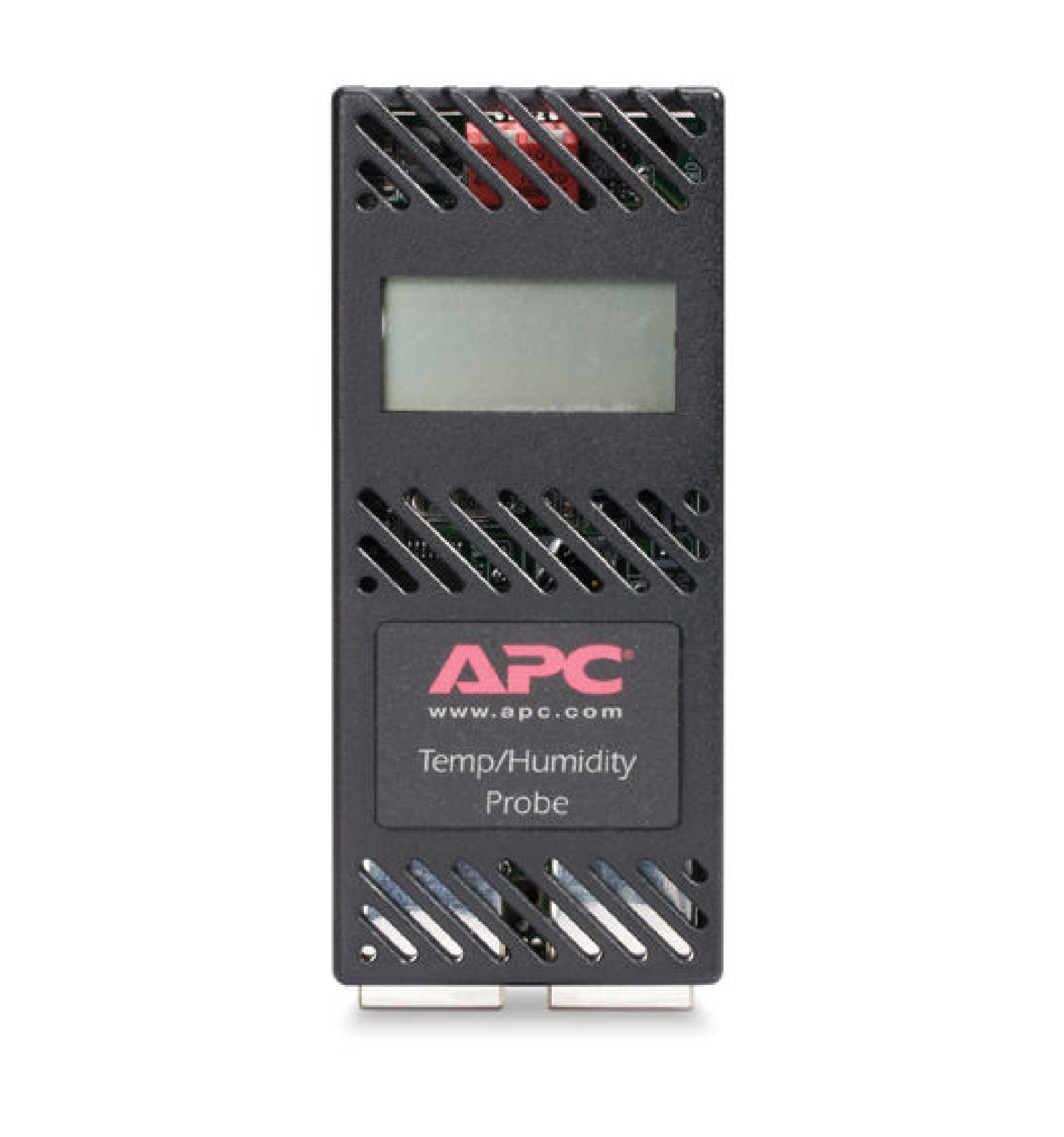 Sensor de temperatura e umidade com visor APC