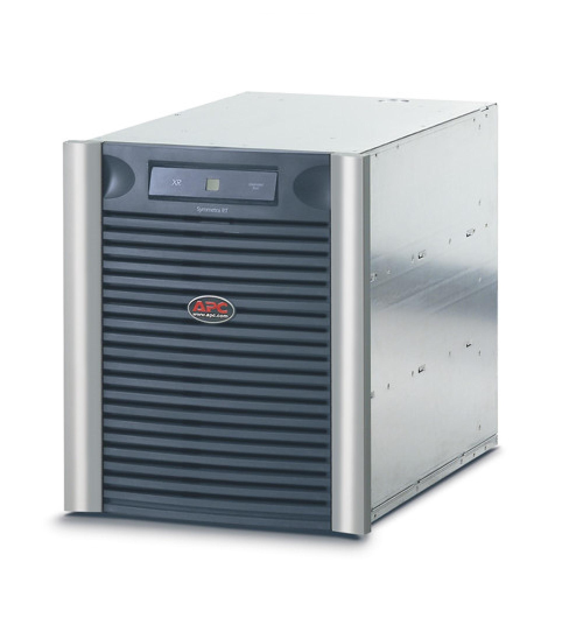 Nobreak Symmetra LX da APC com extensão de autonomia para rack com 9 módulos de baterias SYBT5, 208 V