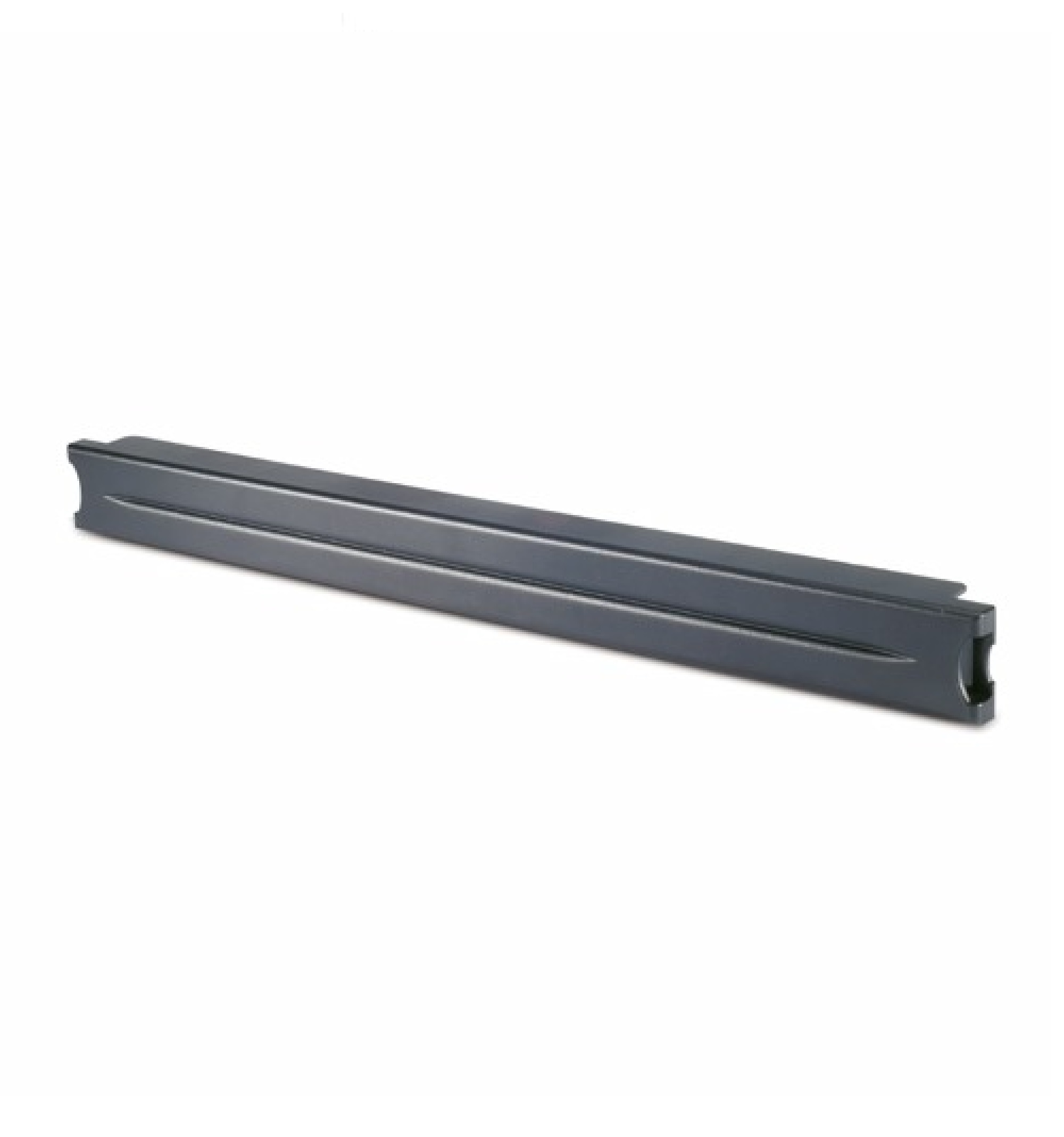 Painel de isolamento preto de 48.26 cm, de montagem sem ferramentas modular de 1 U para gerenciamento da circulação de ar - Quantidade: 10