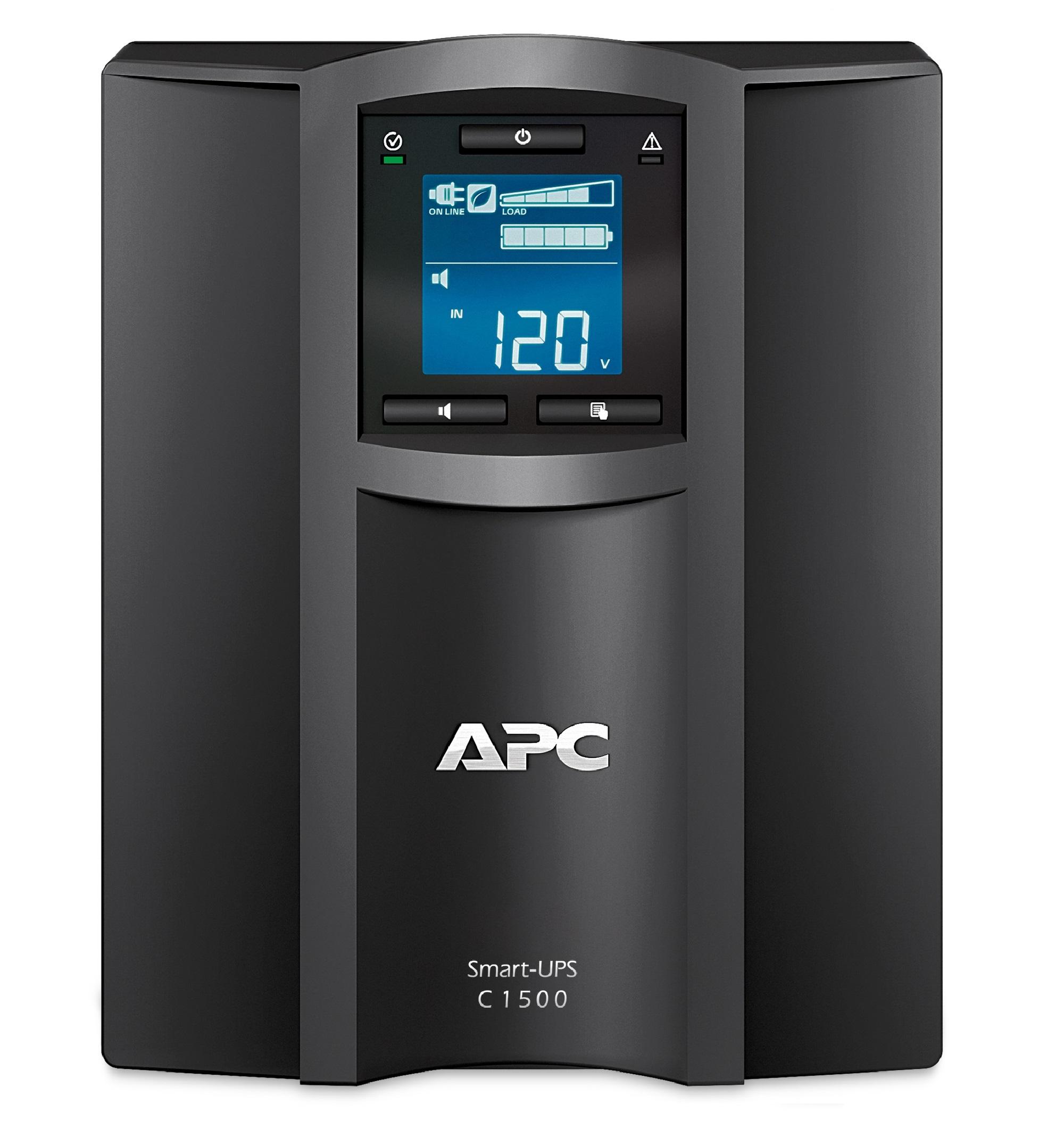 Nobreak inteligente Smart-UPS C da APC, de 1500 VA e 120 V