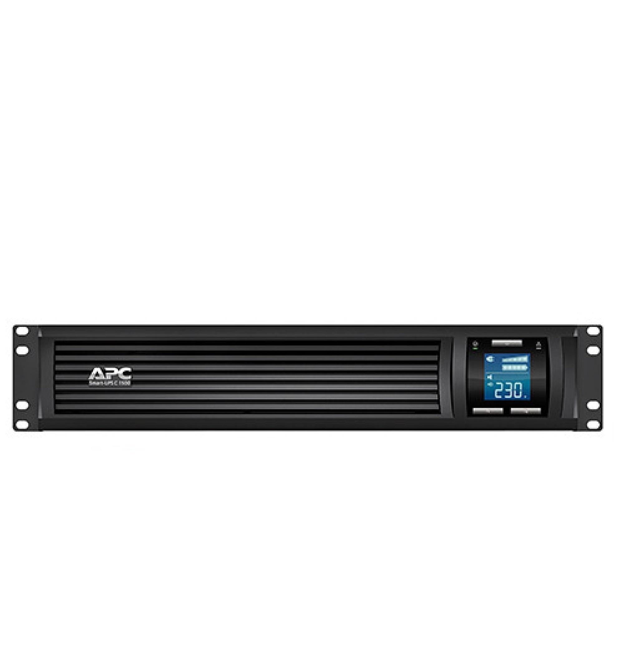 No-break inteligente da APC, 1500 VA, conexão USB e serial, para rack, 2 U, 120 V