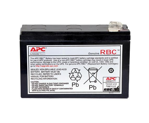 Módulo de baterias sobressalente #125 da APC